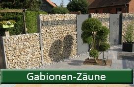 Gabionen-Zäune