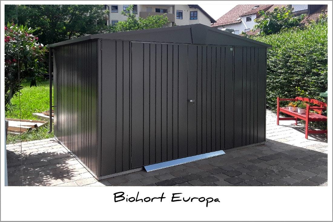 Biohort Europa Gerätehaus mit Montage
