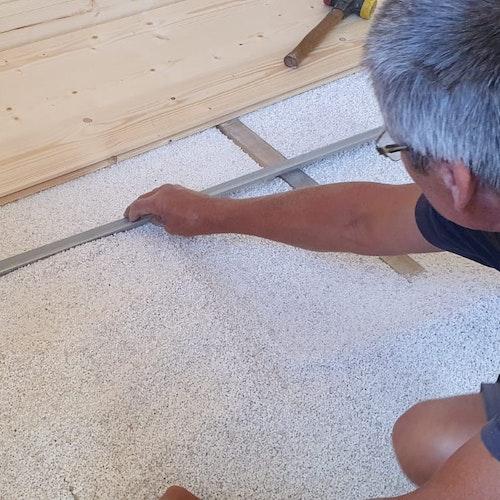 Montage-Anleitung für Fußboden Dämmungspakete