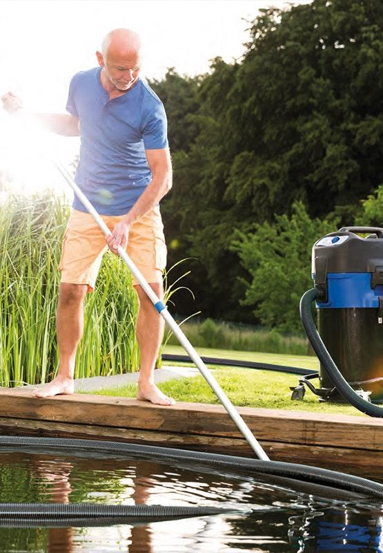 Mühelose und effektive Teichreinigung