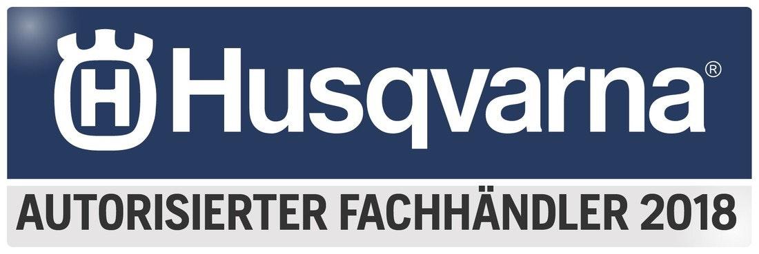 Logo Husqvarna Fachhändler 2018