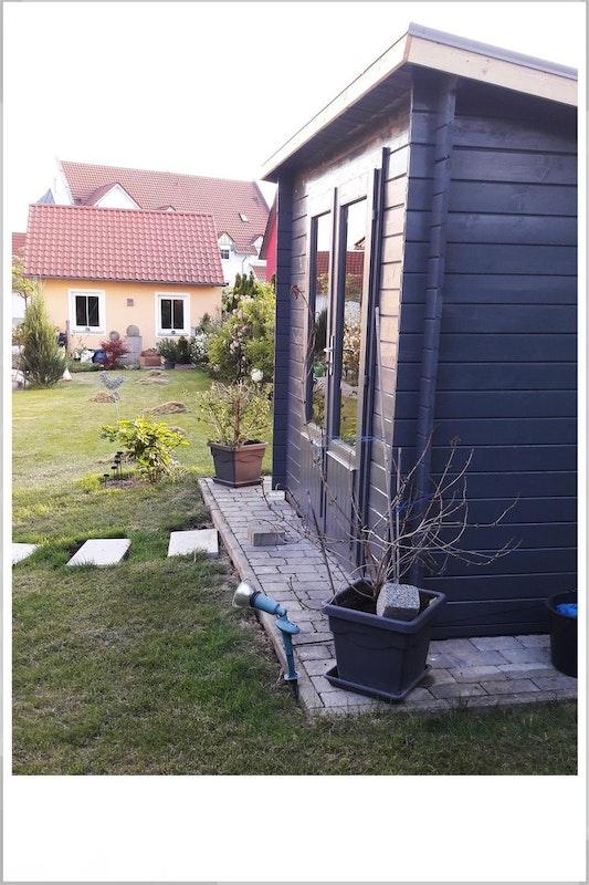 Wolff Finnhaus Gartenhaus Seitenansicht