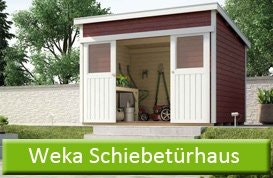 Weka Schiebetürhaus