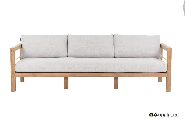apple bee Lounge Sofa 237 FREJUS Gestell aus Teakholz