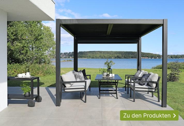 NEU: Weka Aluminium Pavillon/Pergola