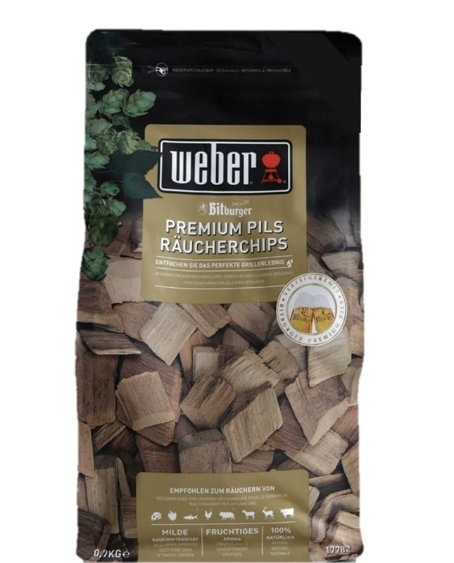Weber Räucherchips Bitburger