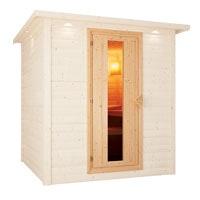 Karibu energiesparende Saunatür
