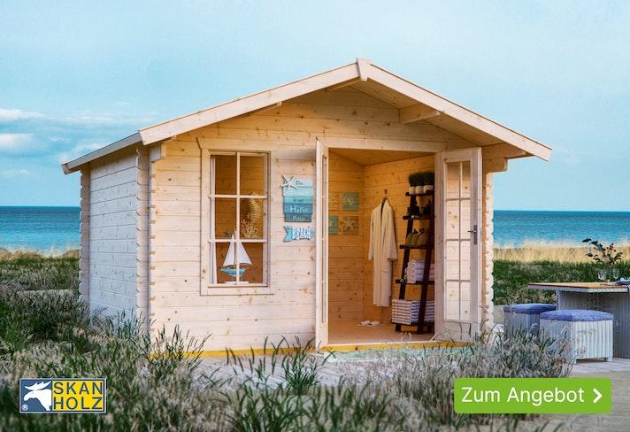 Skan Holz Gartenhaus-Aktion: