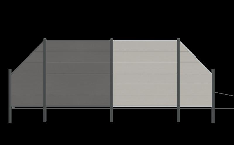 TraumGarten SYSTEM WPC XL Modellvarianten