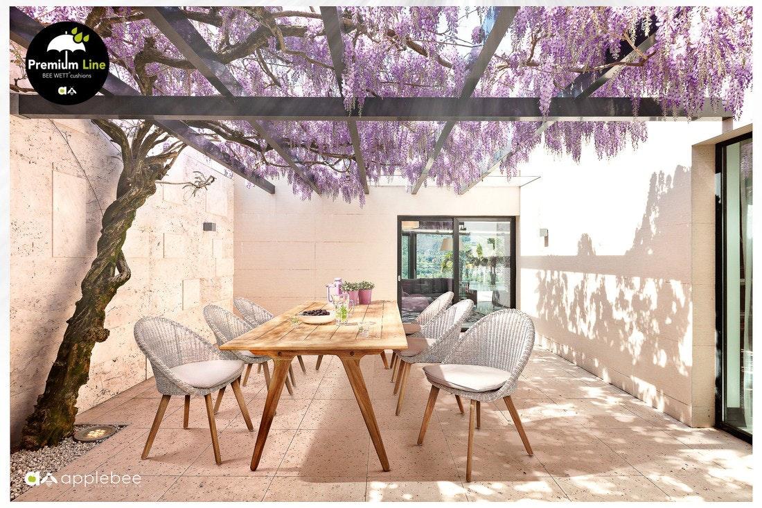 Apple Bee Dining-Stuhl Fleur