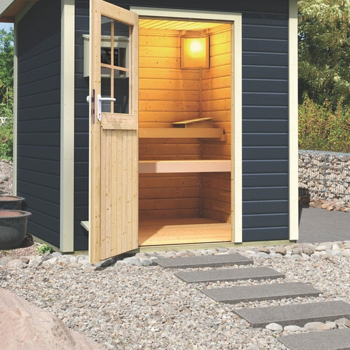 Karibu Sauna: Hochwertige Qualität und Verarbeitung