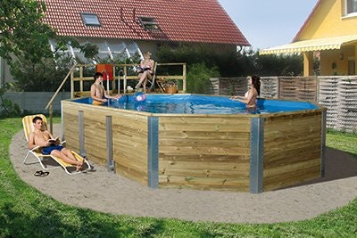 Pool für die Familie