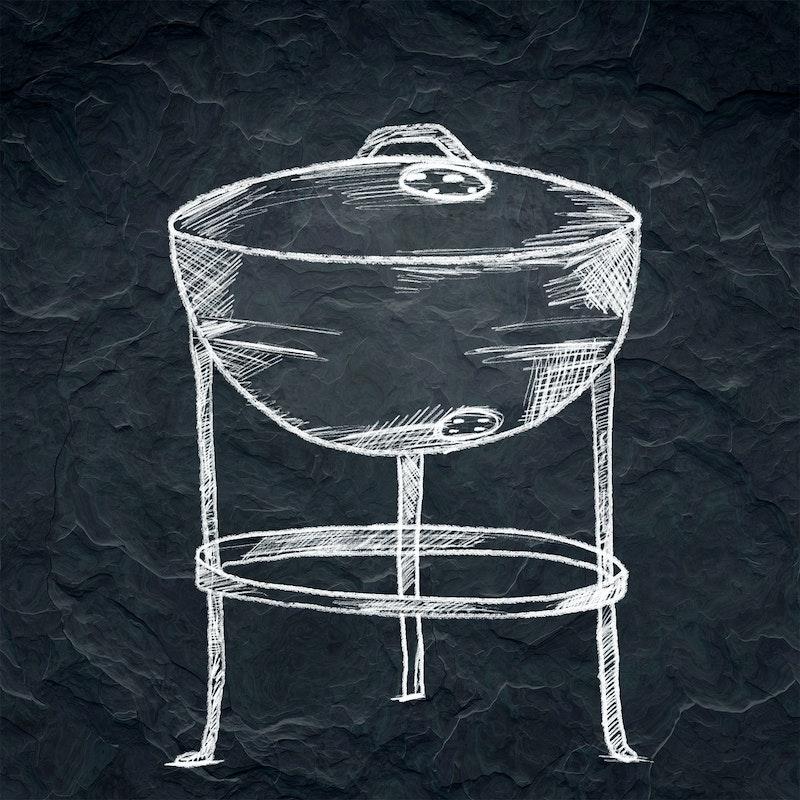 Der erste Kugelgrill von Weber entstand aus einer Schiffsboje