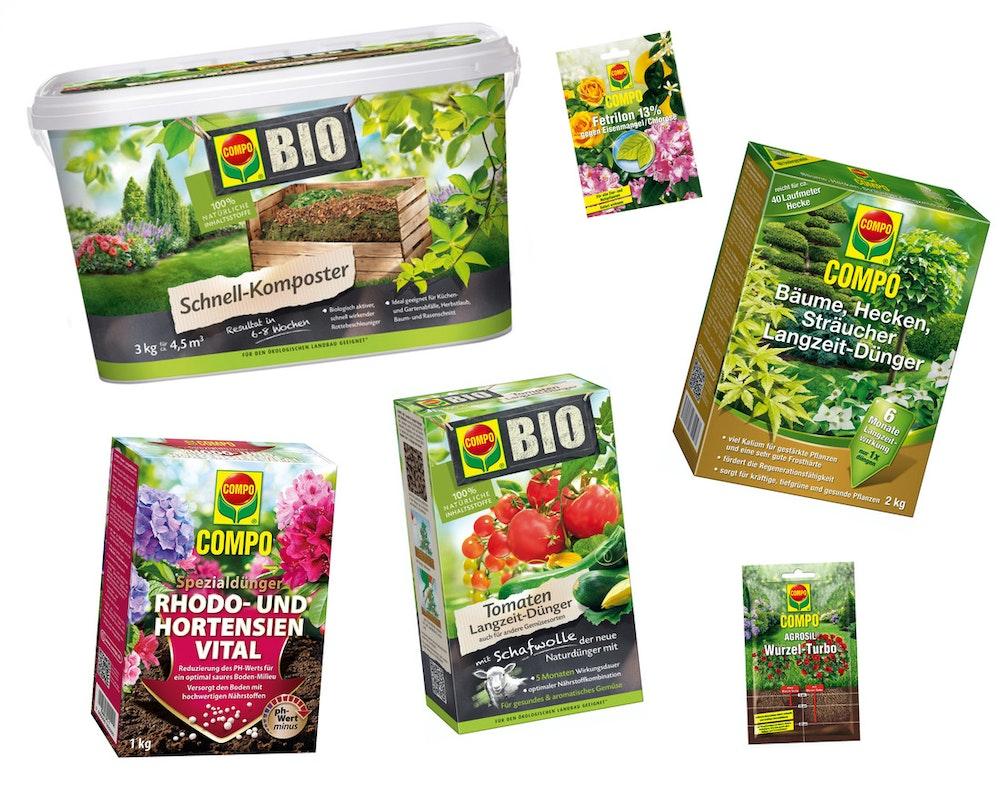 Compo: Dünger für Pflanzen und Gemüse