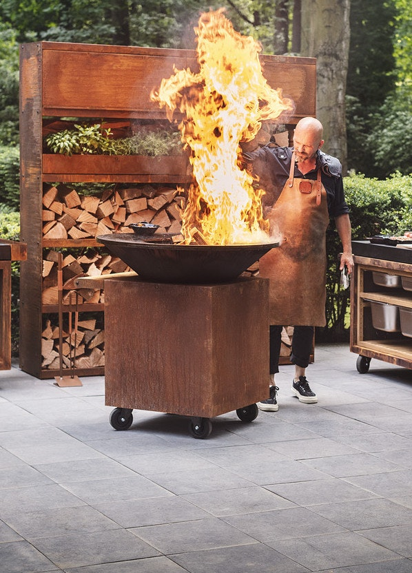 Outdoor cooking mit OFYR