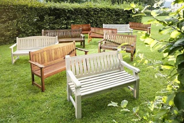 Diamond Garden 3-Sitzer Landhausbank CHATEAU Recycled Teak