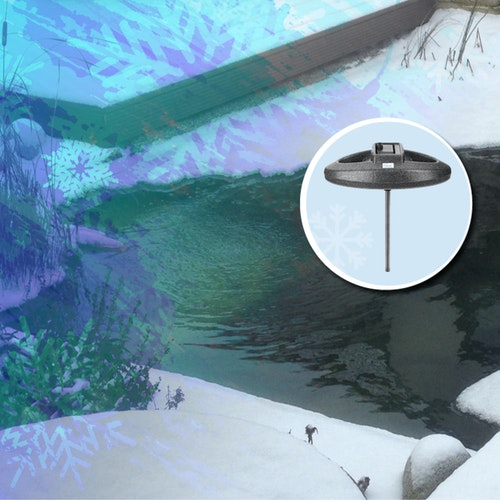 Ein Eisfreihalter bietet viele Vorteile für jeden Teichbesitzer!