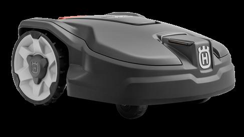 Der Automower 305 für kleine Rasenflächen