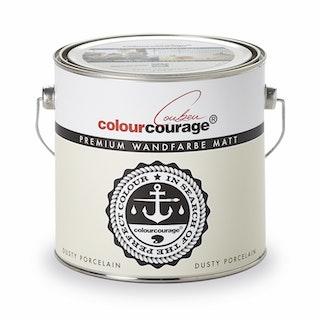 colourcourage® Premium Wandfarbe matt Dusty Porcelain