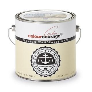 colourcourage® Premium Wandfarbe matt Sables de France