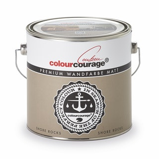 colourcourage® Premium Wandfarbe matt Shore Rocks