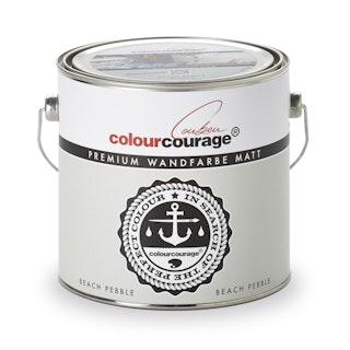 colourcourage® Premium Wandfarbe matt Beach Pebble