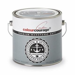 colourcourage® Premium Wandfarbe matt Granito Tessino