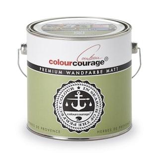 colourcourage® Premium Wandfarbe matt Herbes de Provence