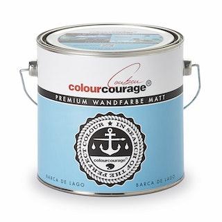 colourcourage® Premium Wandfarbe matt Barca de Lago