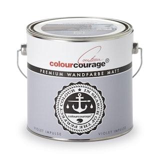 colourcourage® Premium Wandfarbe matt Violet Impulse