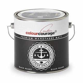 colourcourage® Premium Wandfarbe matt Black Board