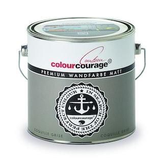 colourcourage® Premium Wandfarbe matt Coquille Grise
