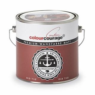 colourcourage® Premium Wandfarbe matt Old Tile