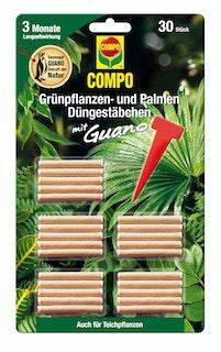 COMPO Grünpflanzen- und Palmen Düngestäbchen mit GUANO