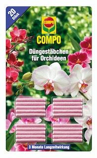 COMPO Düngestäbchen für Orchideen