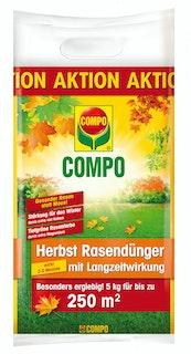 COMPO Herbst Rasendünger mit Langzeitwirkung