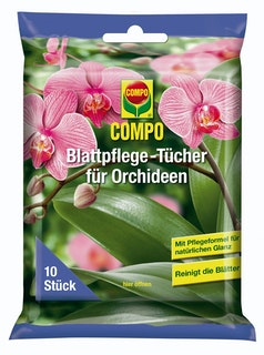 COMPO Blattpflege-Tücher für Orchideen