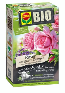 COMPO BIO Rosen Langzeit-Dünger mit Schafwolle