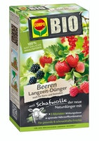 COMPO BIO Beeren Langzeit-Dünger mit Schafwolle