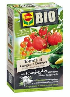 COMPO BIO Tomaten Langzeit-Dünger mit Schafwolle (750 g)