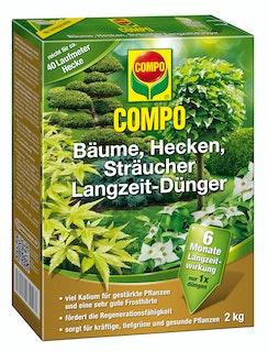 COMPO Bäume, Hecken, Sträucher Langzeit-Dünger (2 kg)
