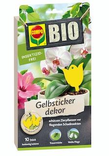 COMPO BIO Gelbsticker dekor (10 Stück)