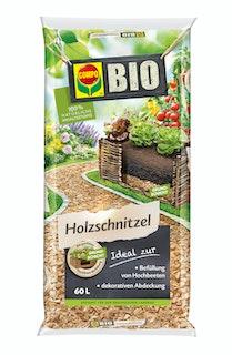 COMPO BIO Holzschnitzel/Rindenmulch (60 L)