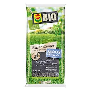 COMPO BIO Rasendünger Moos - Nein danke! 6 kg für 100 m²