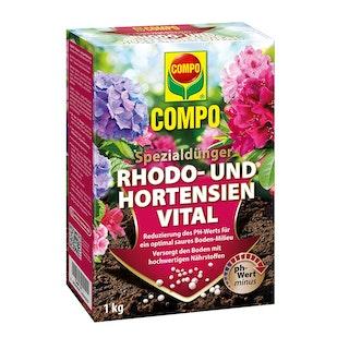 COMPO Vital für Hortensien & Rhododendren 1kg