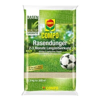 COMPO Rasendünger mit Langzeitwirkung Aktion 13,75 kg für 550 m²