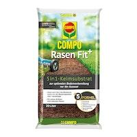 COMPO Rasen Fit+ 5in1 Keimsubstrat 20l für 10 m²