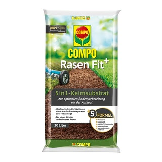 COMPO Rasen Fit+ 5in1 Keimsubstrat 20l für 10 m²