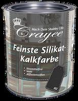 """Crayee Feinste Silikat-Kalkfarbe Basis 02 """"schiefergrau"""""""