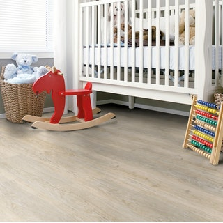 CORKLIFE Designbelag PURESTYLE Landhausdiele Bright Grey Washed Oak-Auslaufprodukt
